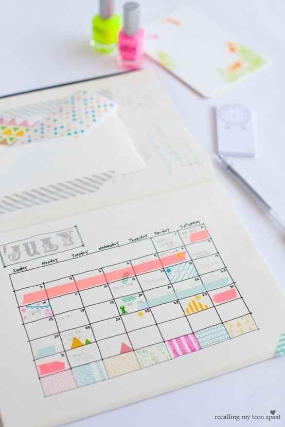Use it to mark a calendar.