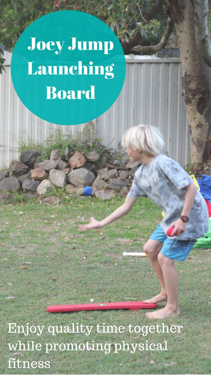 Resources that promote quality time as well as gross motor activity - indoors or out, and appeal to children young and old are always a winner in our eyes! The Joey Jump Launching Board is a great way to fit physical activity into the day, rain, hail or shine and incorporate learning at the same time! Read more...