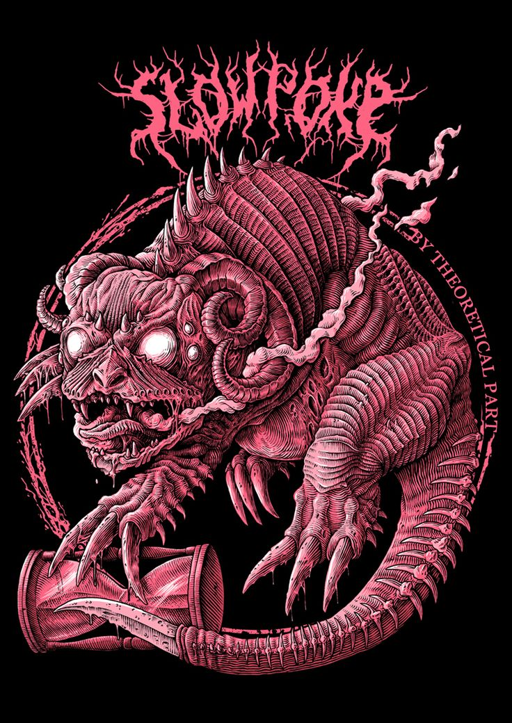 Slowpoke - demon of agonizing waiting, slow death (extremely slow, so slow that people usually dying of old age before they would be caught by Slowpoke) and procrastination.