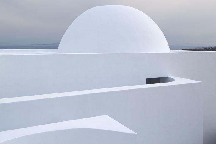 Greek Chapel, Mykonos  |  James Gorst Architects