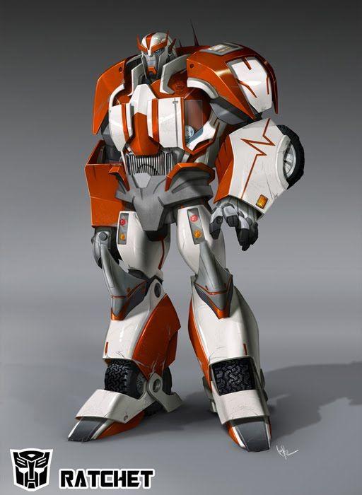 Transformers Prime - Ratchet