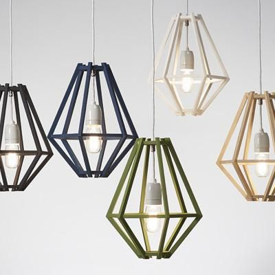 The Cumulus Pendant Light is made from natural ply wood and available in a range of Dulux colours. Dimensions26cm (Dia) x 34cm (H) Includes• Timber frame• 2.5m