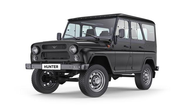 Hunter - Black metallic