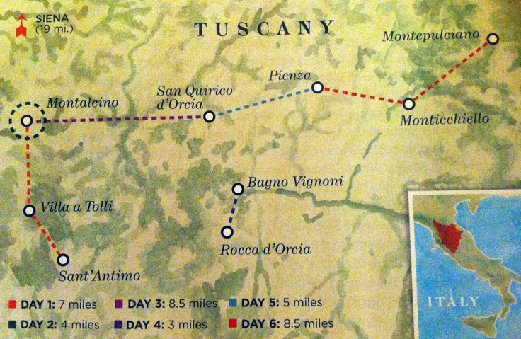 exploring tuscany