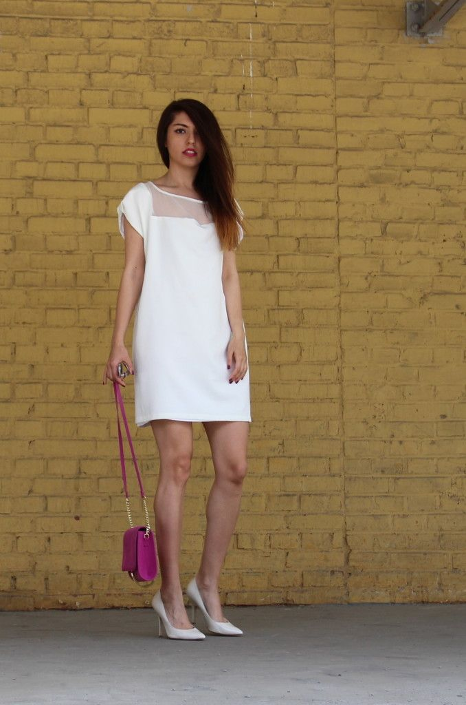 """Blog update """"Life is beautiful but you don't have a clue- Lana Del Rey"""". Visit AllAboutTara.com for more pics! #fashionblog #todaysoutfit #fashion #style #whitedress"""