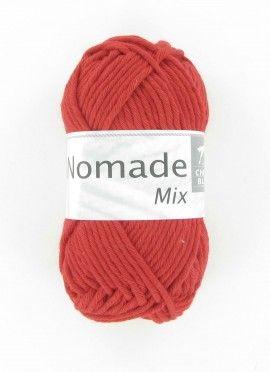 """Fil à tricoter spécial été ! NOMADE MIX : un gros fil en coton aux coloris """"nature""""."""