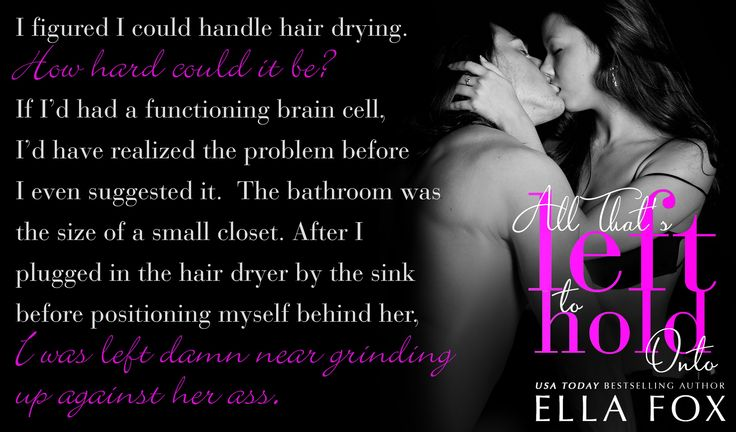 All That's Left to Hold Onto is LIVE!