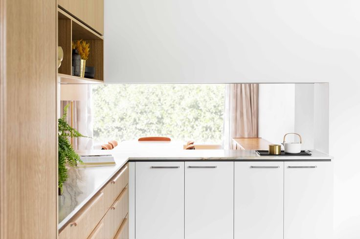 Cantilever K2 Kitchen with opulent 60's marble.   Photography by Martina Gemmola   Styling by Ruth Welsby   Made in Brunswick, Melbourne   www.cantileverinteriors.com
