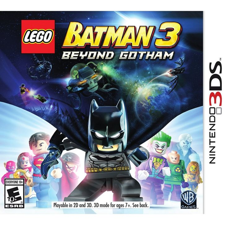 LEGO Batman 3: Beyond Gotham - Nintendo 3DS - Coupon Savings In The South