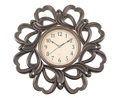 Часы настенные - коричневый, Ø61 см