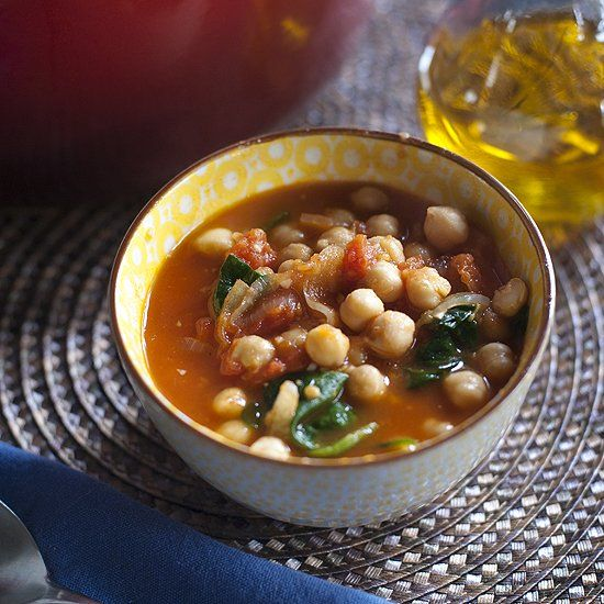 A tantalizing soup full of buttery chickpeas bursting with ginger and smoked paprika flavor.