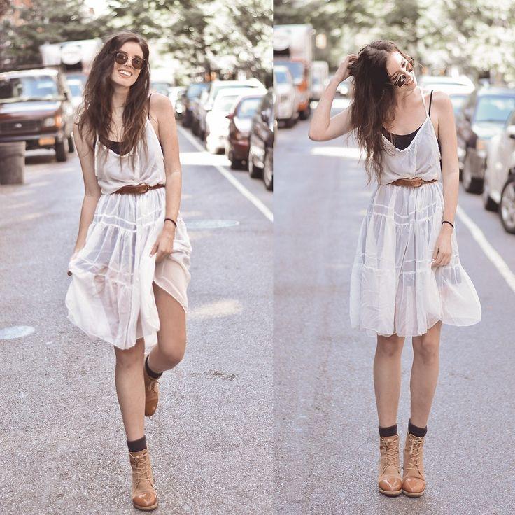 24 best Little White Dress w/Boots images on Pinterest | Mein stil ...