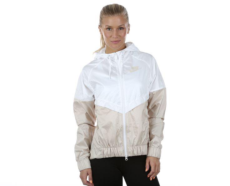 Nike - Windrunner Jacket | Takit | Valkoinen;Harmaa | Sportamore.fi