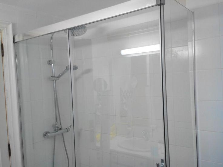 Mejores 18 im genes de mamparas de ducha con estilo en - Mamparas acrilicas para ducha ...