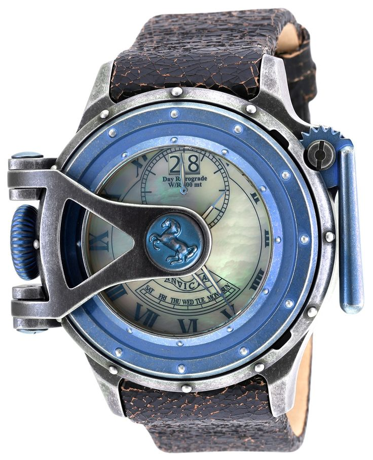 Invicta Mens Watch 18594 Vintage Quartz 3 Hand White Dial