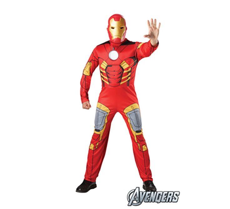 Disfraz de #IronMan  #LosVengadores #TheAvengers #TheAvengers2 #Marvel #Disfraz #Disfraces #LosVengadores2 #Superheroe #Superheroes #Superhero #Superheros