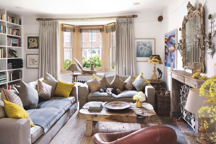Antiques dealers Spencer and Freya Swaffer's home is a considered and elegant space packed with ideas
