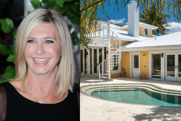 Olivia Newton-John's Home Newton-John and Easterling purchased this home on Jupiter Island, Florida, in 2009 for $4.1 million.  After more than $2 million in renovations, the couple is now listing the estate for $6.2 million.