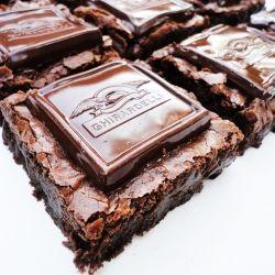 Ghirardelli Dark Chocolate Raspberry Brownies - can I get an AMEN!?!