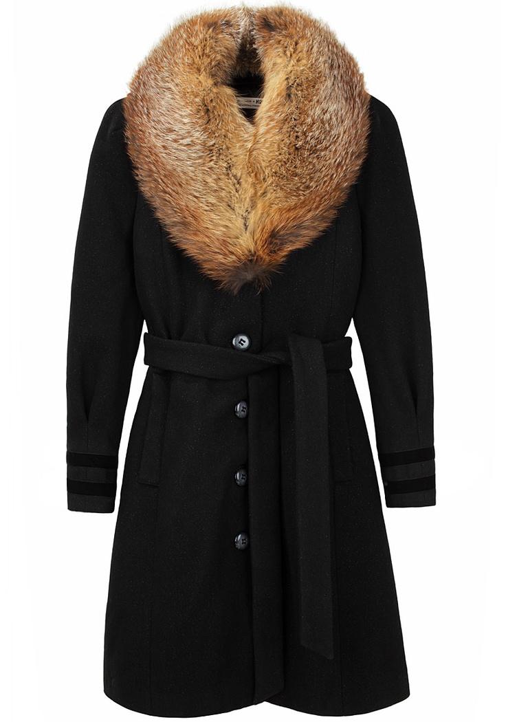 Hope x Nina Persson / Nina Coat w/ Fur Collar