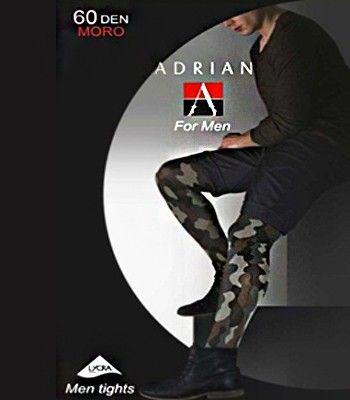 Adrian - Collant homme couleur militaire - Moro