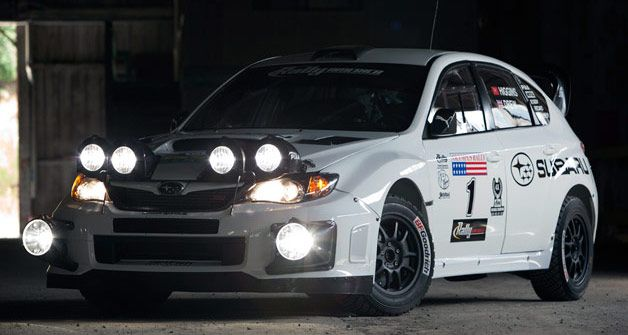 Up close and personal with David Higgins' 2012 Subaru WRX STI Rally Car [w/video]