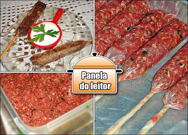 Panela do Leitor: Kafta ~ PANELATERAPIA - Blog de Culinária, Gastronomia e Receitas