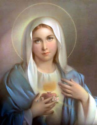 Essere Cristiani: Consacrazione del sito al Cuore Immacolato di Maria