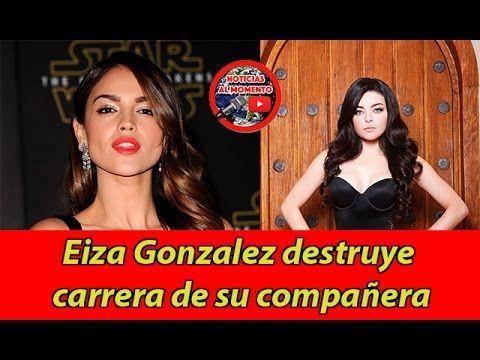 🔴 Eiza Gonzalez destruye carrera de su compañera | Noticias al Momento https://www.youtube.com/watch?v=1w8BjnfktAw