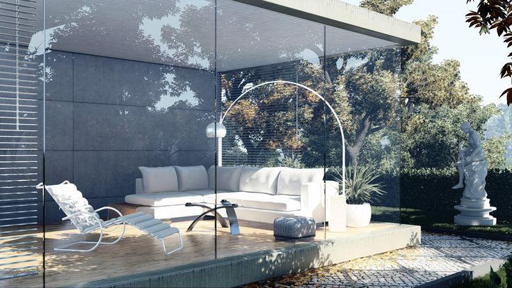 3D Visualisierung, gestaltet mit Lumion #lumion #lumion6 #architektur #archilover #wohnen #wintergarten #einrichtung #interior # innenarchitektur #inneneinrichtung