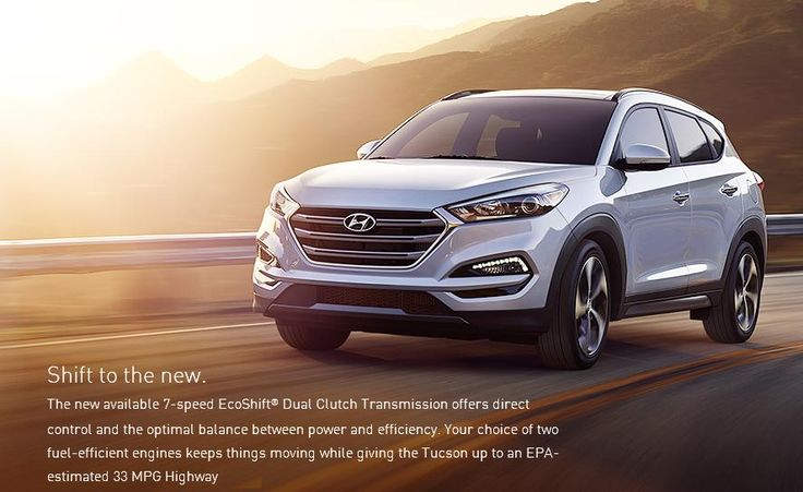 Shift to the new. The new available 7speed Hyundai