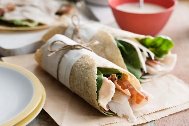 This easy lunch idea is ready in a flash. It's great for picnics, too.