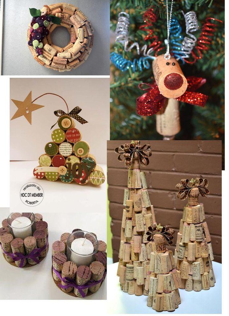 laboratori per bambini natale addobbi natalizi christamas craft kidsporta candele tappi di sughero: