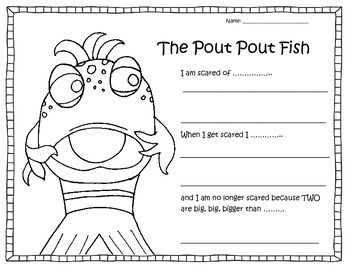 the pout pout fish worksheet more