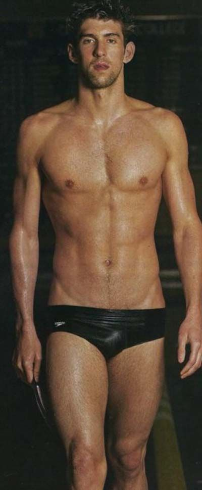 Hot Shirtless Olympic Dude of the Day: Michael Phelps