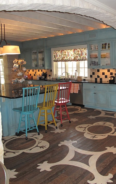 17 Best Ideas About Painted Kitchen Floors On Pinterest