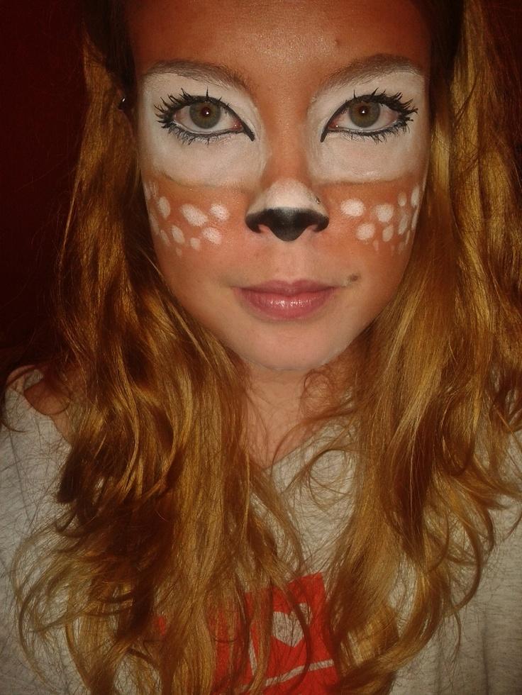 Bambi makeup | Halloween | Pinterest