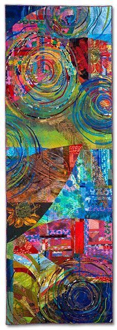 by Sue BennerBright Art, Colors Art Quilt, Art Fun, Contrast Art, Sue Benner, Children Art, Quilt Art, Child Art, Colours Art