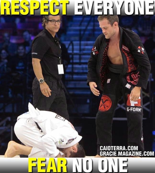 Respeito.