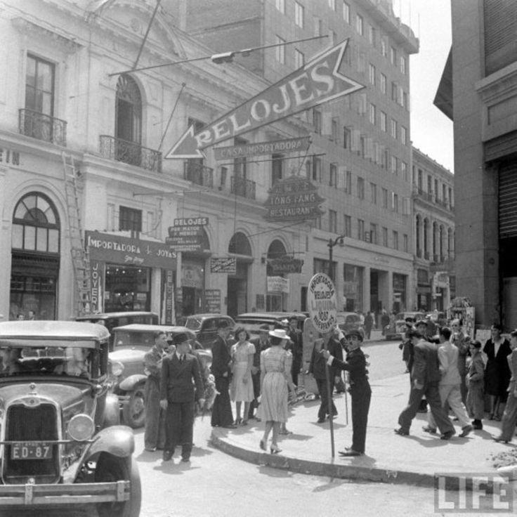 1950, Huérfanos con Bandera, propaganda de relojes