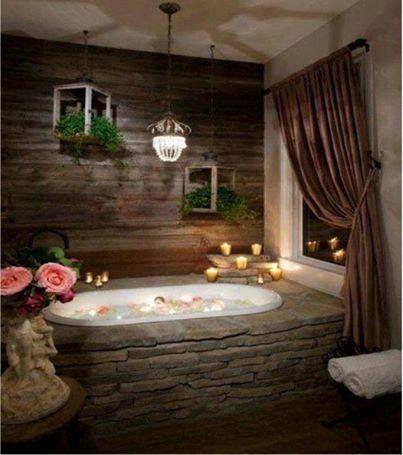 22 besten dream bathroom Bilder auf Pinterest Badezimmer, Luxus - badezimmer steinwand