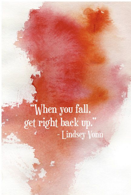 Inspirational Poster Print Lindsey Vonn by WeAreUpNorth on Etsy, $35.00