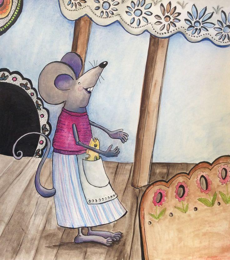 Mysz l Mouse ©Katarzyna Krasowska
