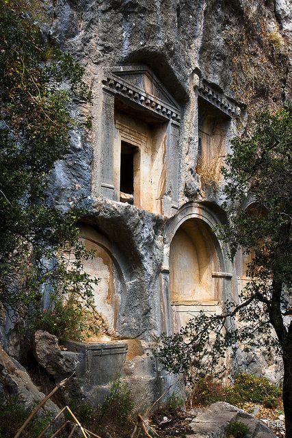 Termessos burial chambers Turkey
