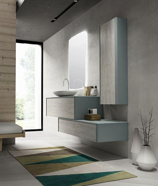 Soft tones and natural #textures. #bathdesign #design #MastellaDesign #furniture #wood #wooden #hpl #interiors #decor #interiordesign