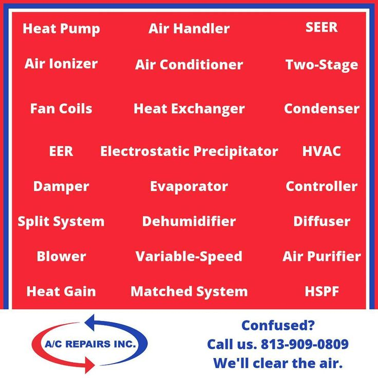 Has thinking about a new HVAC system left you dazed and confused? We understand. Just call Eddie 813-909-0809 and everything will become crystal clear.  #cleartheair #tampa #hillsborough #pasco #pinellas #tampabay #hvac #heating #cooling #airconditioning