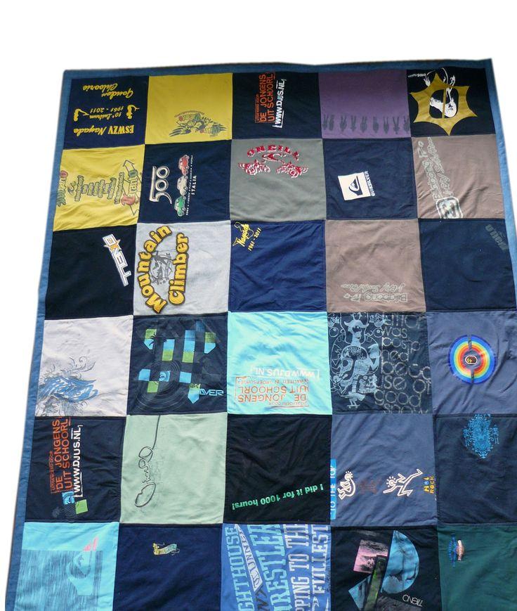 t-shirt deken - Belle ReDesign
