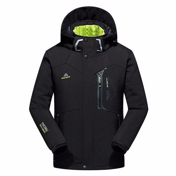 Waterproof Windproof Thick Warm Men Hooded Padded Professional Outdoor Jackets