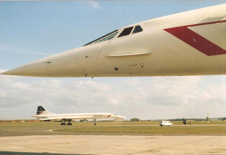 "Concorde: British Airways: ""Evocative Reminders..."""