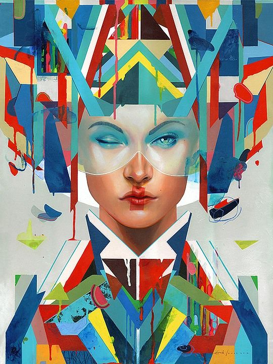 Erik Jones is an artist and illustrator focusing on contemporary figure painting and cover illustration. Below, you may scroll through several hot artworks where symmetry and surrealism collide harmoniously. Get inspired!
